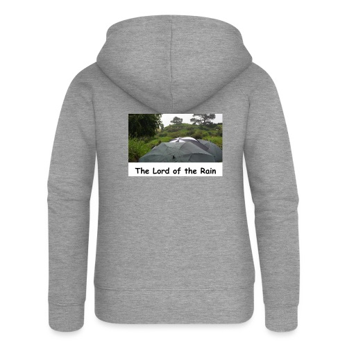 The Lord of the Rain - Neuseeland - Regenschirme - Frauen Premium Kapuzenjacke