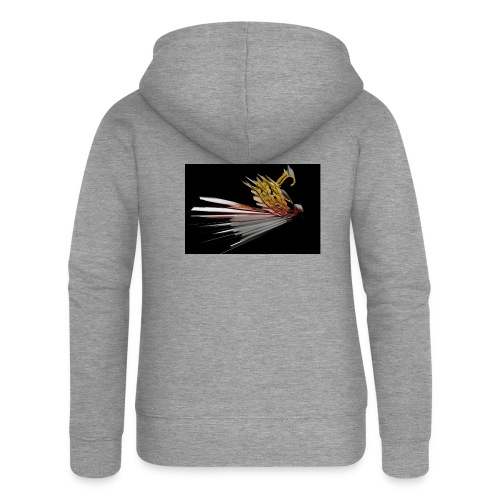 Abstract Bird - Women's Premium Hooded Jacket