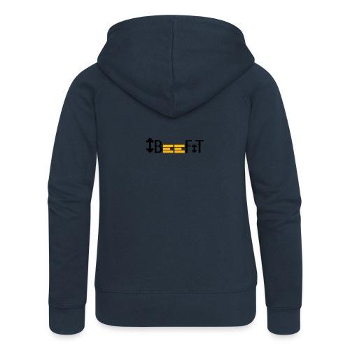 ibeefit slim fit t-shirt logo on back - Premium luvjacka dam