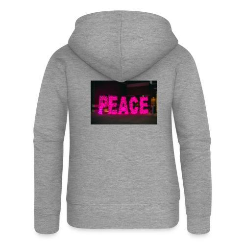 paz - Chaqueta con capucha premium mujer