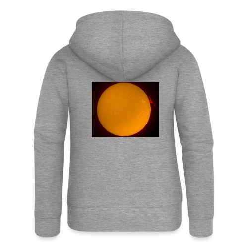 Sonne in H-Alpha - Frauen Premium Kapuzenjacke