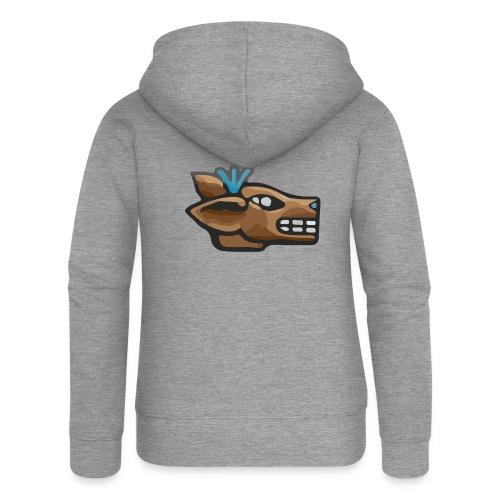 Aztec Icon Deer - Women's Premium Hooded Jacket