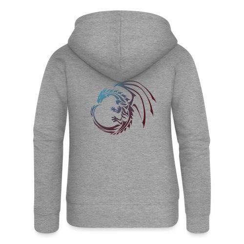 color Dragon - Women's Premium Hooded Jacket