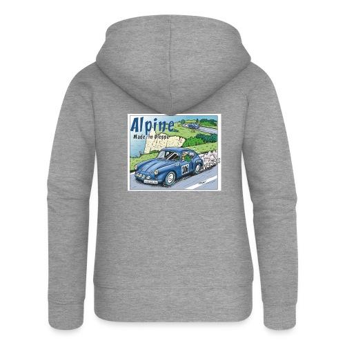 Polete en Alpine 106 - Veste à capuche Premium Femme