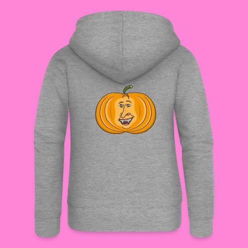 Rick pumpkin - Vrouwenjack met capuchon Premium