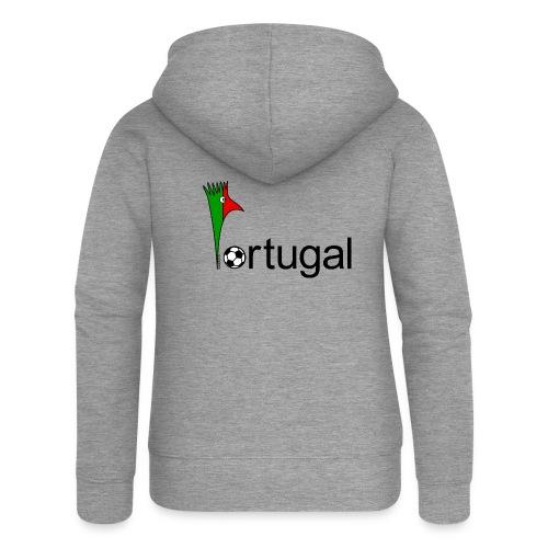 Galoloco Portugal 1 - Frauen Premium Kapuzenjacke