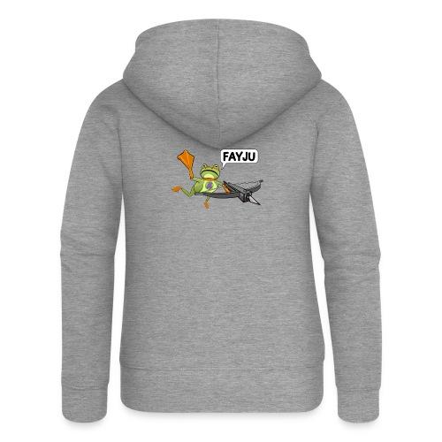 Amazing Frog Crossbow - Women's Premium Hooded Jacket