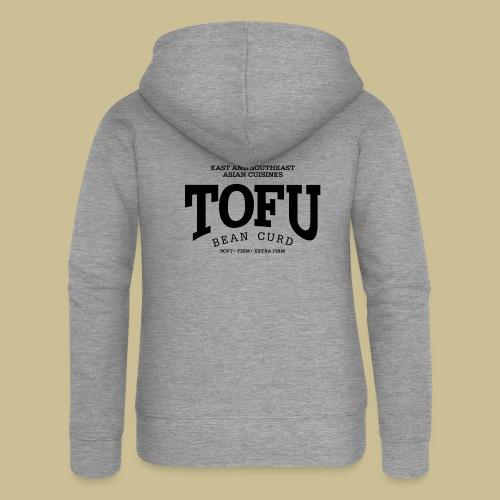 Tofu (black) - Frauen Premium Kapuzenjacke
