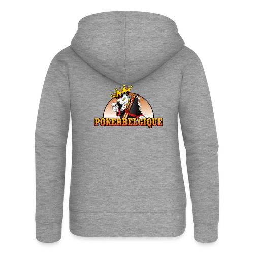 Logo Poker Belgique - Veste à capuche Premium Femme