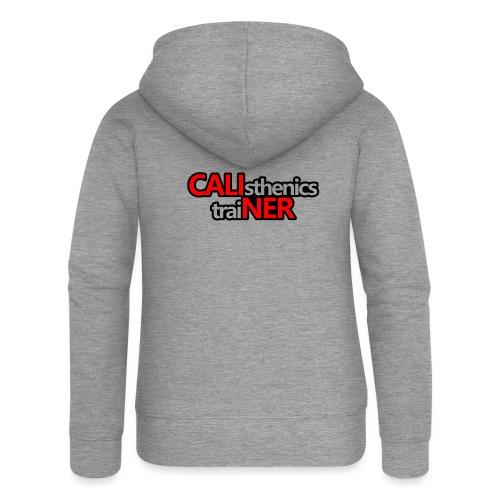 Caliner T-shirt - Felpa con zip premium da donna