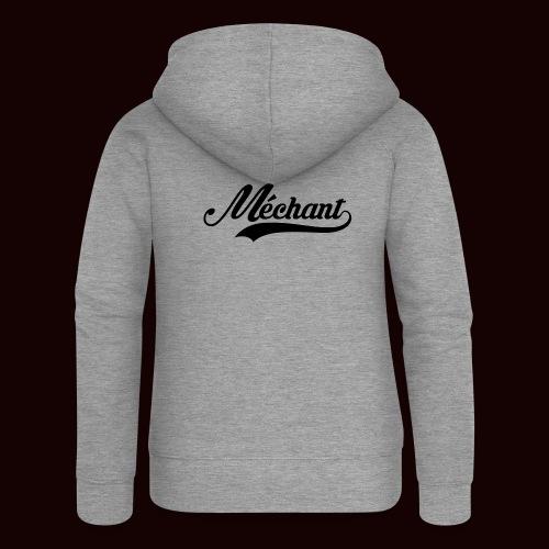 mechant_logo - Veste à capuche Premium Femme