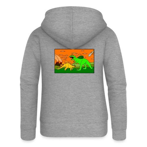 Schneckosaurier von dodocomics - Frauen Premium Kapuzenjacke