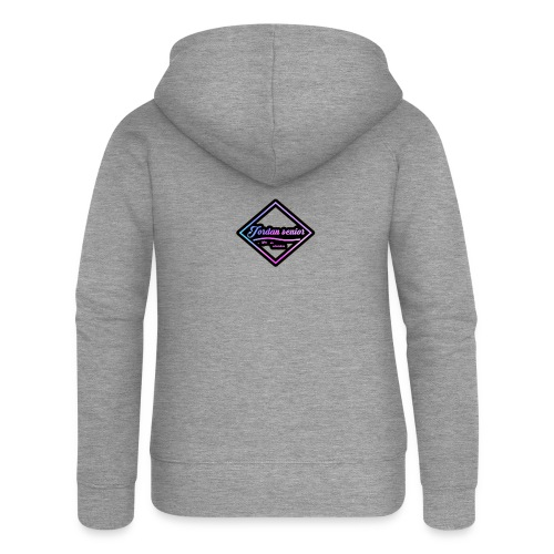 jordan sennior logo - Women's Premium Hooded Jacket