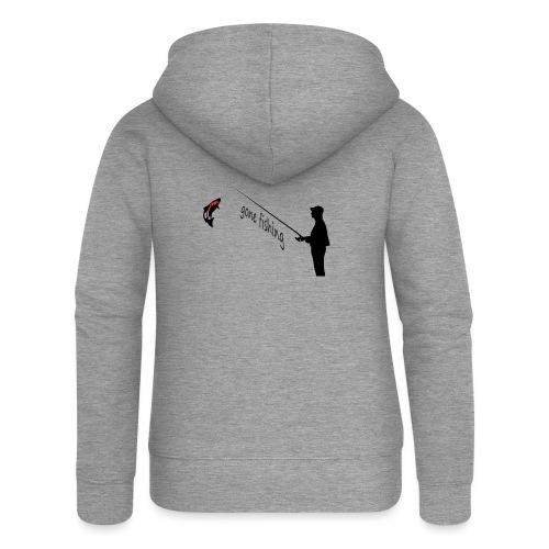 Angler - Frauen Premium Kapuzenjacke