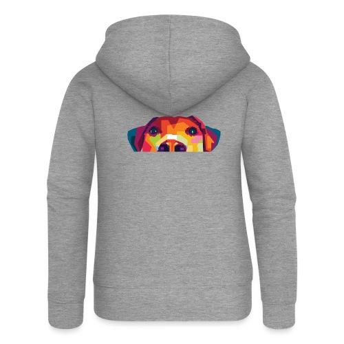 Hunde WPAP Design - Frauen Premium Kapuzenjacke