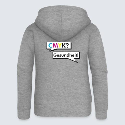 CMYK - Frauen Premium Kapuzenjacke