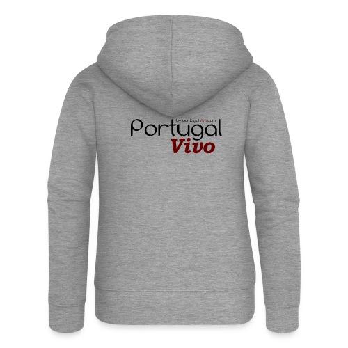 Portugal Vivo - Veste à capuche Premium Femme