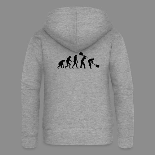 Evolution Rock - Chaqueta con capucha premium mujer