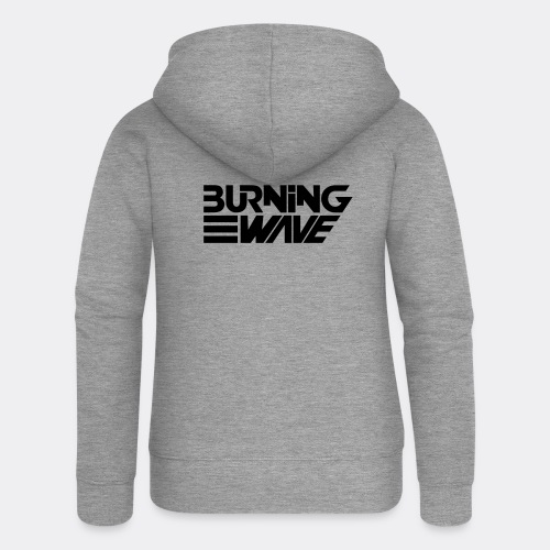 Burning Wave Block - Veste à capuche Premium Femme