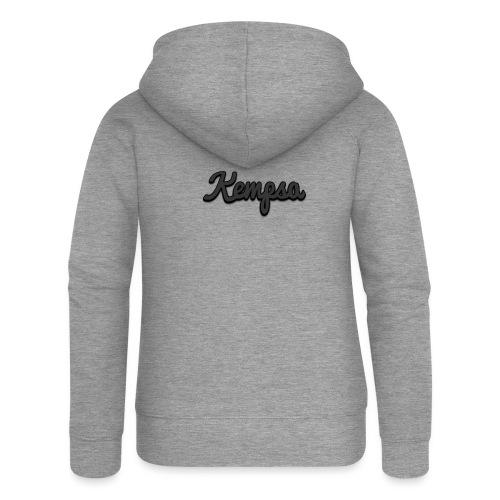 Maglia classica - Felpa con zip premium da donna