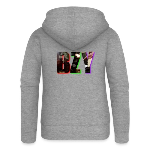 BZY - OFICJALNY PROJEKT - Rozpinana bluza damska z kapturem Premium