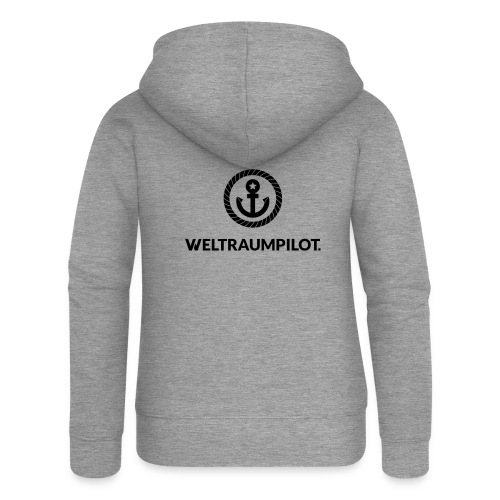weltraumpilot - Frauen Premium Kapuzenjacke