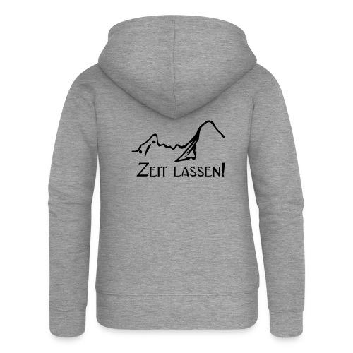 Watze-Zeitlassen - Frauen Premium Kapuzenjacke
