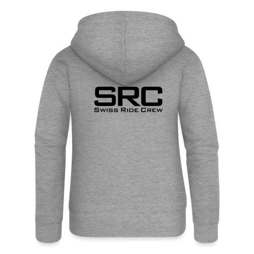 SRC Wintermütze Weiss - Frauen Premium Kapuzenjacke
