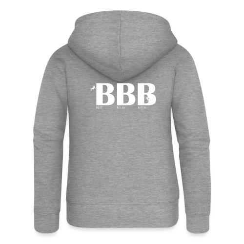 Best Belay Bitch - Frauen Premium Kapuzenjacke