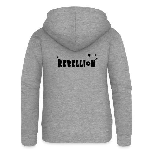 Rebellion - Frauen Premium Kapuzenjacke
