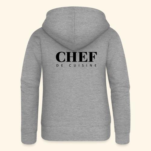 BOSS de cuisine - logotype - Women's Premium Hooded Jacket