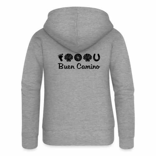 Buen_Camino_4 - Frauen Premium Kapuzenjacke