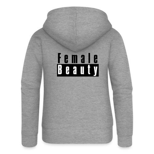 Female Beauty Explicit Content - Women's Premium Hooded Jacket