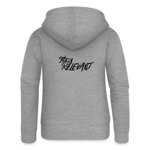 stay relevant png - Women's Premium Hooded Jacket