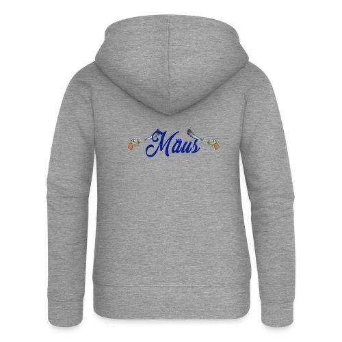 Waterpistol Sweater by MAUS - Vrouwenjack met capuchon Premium