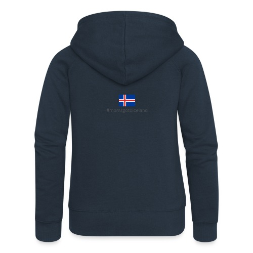 Iceland - Women's Premium Hooded Jacket
