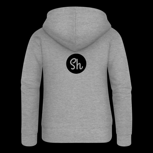 LOGO 2 - Women's Premium Hooded Jacket