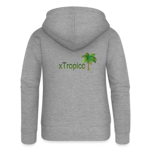 tropicc - Veste à capuche Premium Femme