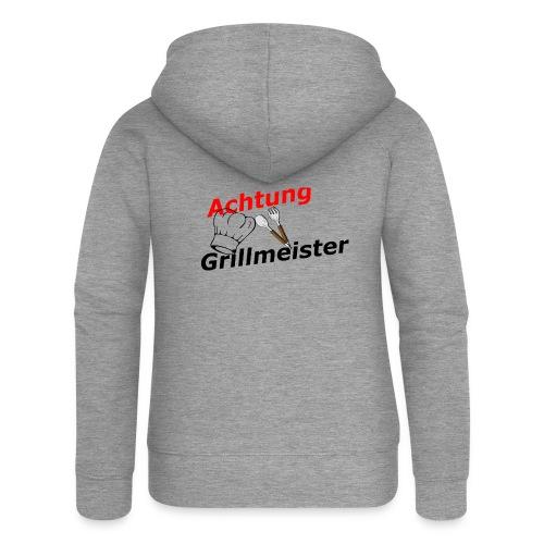 Grillmeister - Frauen Premium Kapuzenjacke