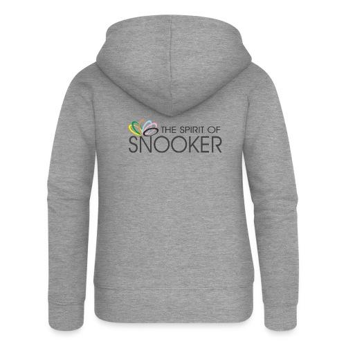 spirit of snooker - Frauen Premium Kapuzenjacke