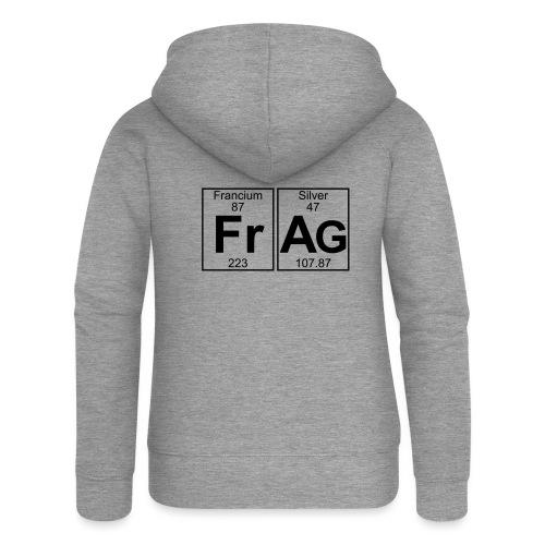 Fr-Ag (frag) - Full - Women's Premium Hooded Jacket