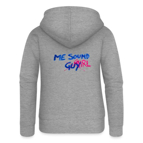 me = sound girl - Women's Premium Hooded Jacket