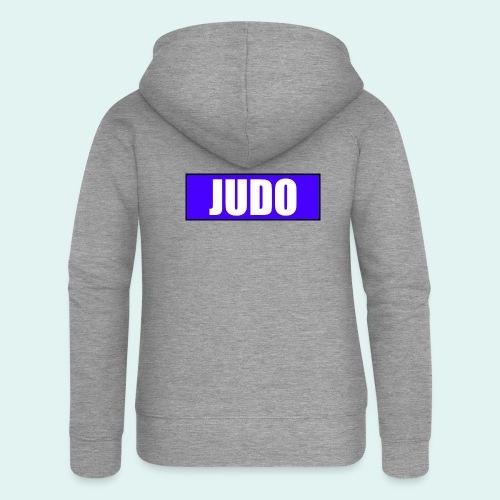 Judo Blau 2. Kyu - Frauen Premium Kapuzenjacke
