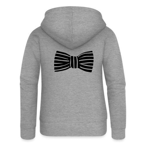 bow_tie - Women's Premium Hooded Jacket