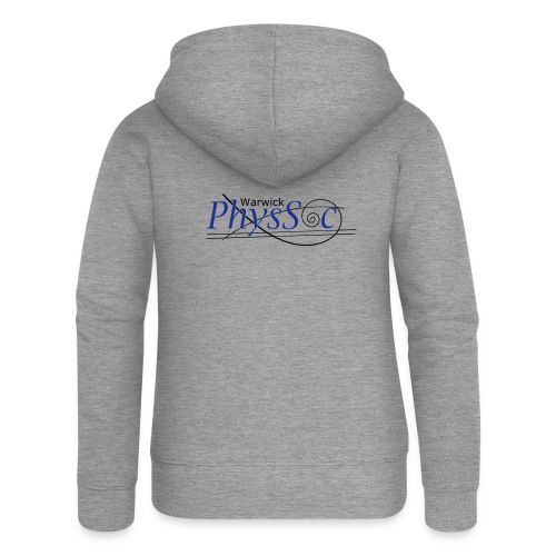 Official Warwick PhysSoc T Shirt - Women's Premium Hooded Jacket