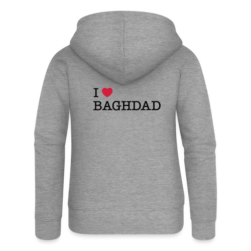 I LOVE BAGHDAD - Women's Premium Hooded Jacket