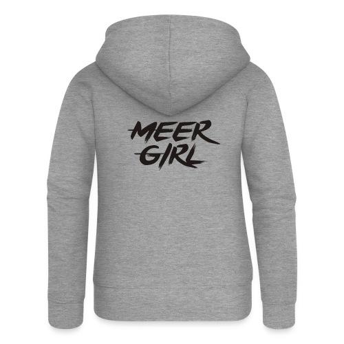 Meer Girl - Frauen Premium Kapuzenjacke