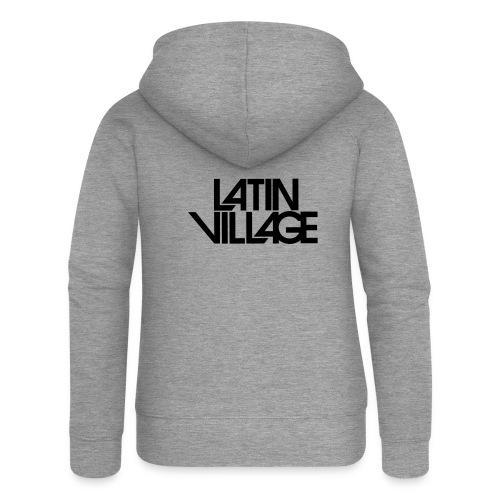 Logo Latin Village 30 - Vrouwenjack met capuchon Premium