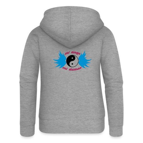 Débardeur Bio Femme Mi ange Mi démon - Women's Premium Hooded Jacket