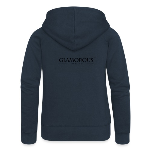 Glamorous London LOGO - Women's Premium Hooded Jacket